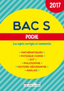 Bac S Poche - 2017