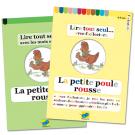La petite poule rousse - Leduo facilecture (2titres)
