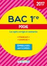 Bac 1re Poche - 2017